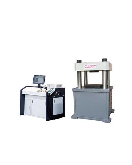 微机控制电液伺服压力机系列YAW-2000